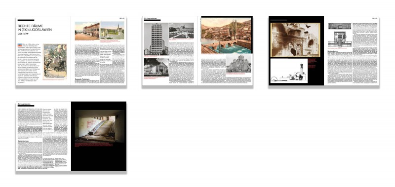 Studies on (Post-)Yugoslav Spaces II: ARCH+ 235 - Rechte Räume
